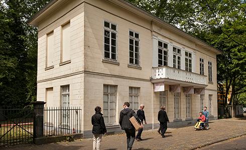 Sprechendes Denkmal Bahnhof Belvedere
