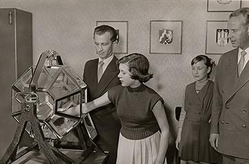 Lotttoziehung 1955
