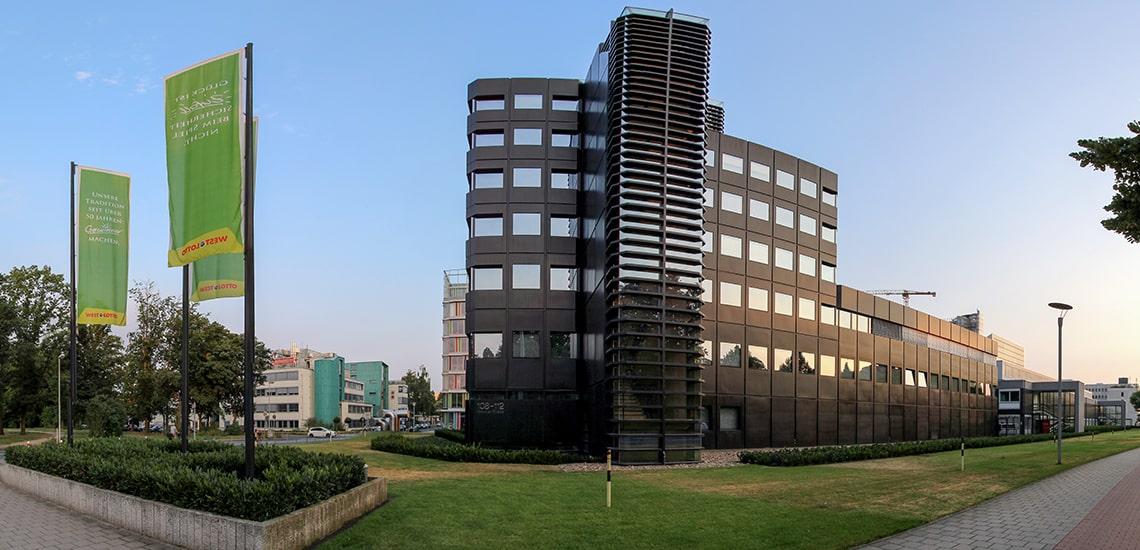 Zentrale von WestLotto in Münster